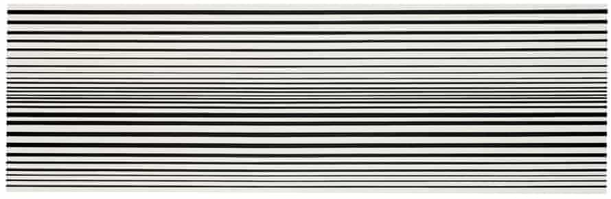 Horizontal Vibration, 1961 by Bridget Riley