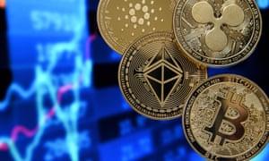 Cryptocurrencies.  EPA/SASCHA STEINBACH