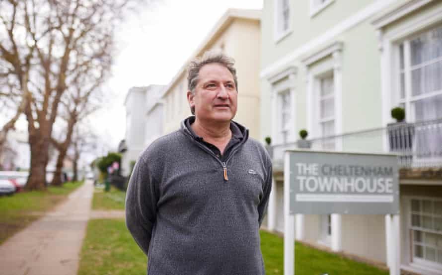 Adam Lillywhite, who runs the Cheltenhanm Townhouse