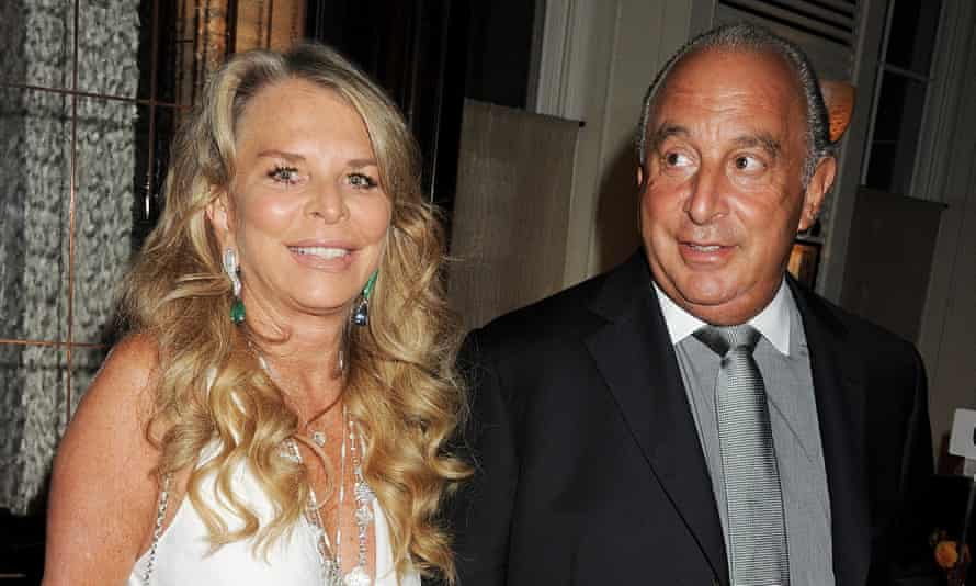 Lady Green and Sir Philip Green