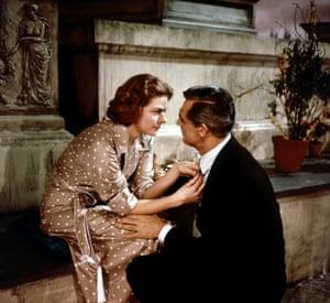 Ingrid Bergman and Cary Grant in Indiscreet (1958).