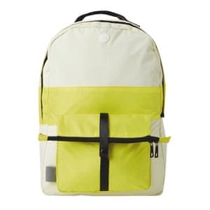 White & Yellow packpack