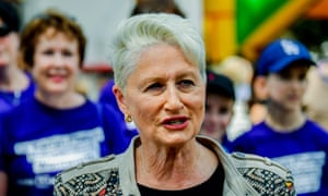 Dr Kerryn Phelps said if elected she would work to find like-minded MPs to support an immediate end to offshore detention: 'We are a good-hearted people being led by a heartless government.'
