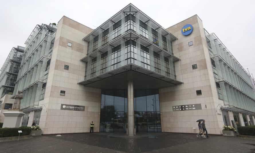 TVN headquarters in Warsaw