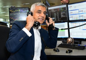 London Mayor of London Sadiq Khan