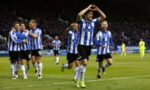 Fernando Forestieri celebrates and has been one of the success stories for Sheffield Wednesday in their remarkable run to the Championship play-off final.