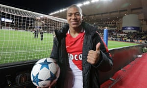 Kylian Mbappé has scored the goals to help Monaco knock out Manchester City and Borussia Dortmund so far in the Champions League, and has broken into the senior France team at just 18.