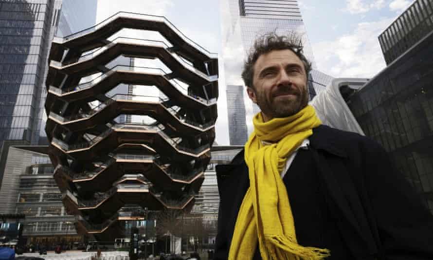 Thomas Heatherwick in New York.