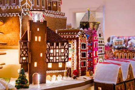 The Museum of Architecture's Gingerbread City at the V&A