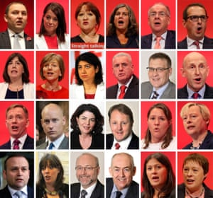 photos of members of Jeremy Corbyn's shadow cabinet who have resigned