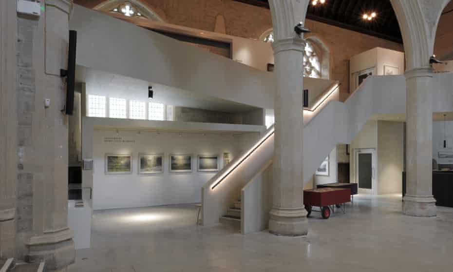 Dow Jones's work in the Garden Museum's main space.