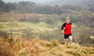 John Aggleton running