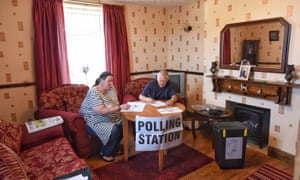 Living room politicsA living room in the small Cumbrian village of Pica is being used as a polling station