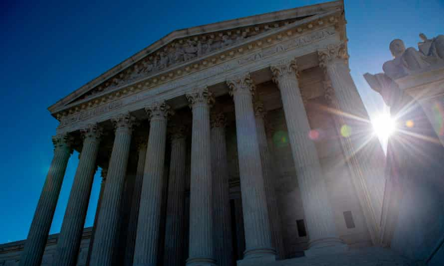 """US-POLITICS-PATENT-RIGHTS-FASHION<br>The United states Supreme Court is seen on April 15, 2019 in Washington DC. - The US Supreme Court takes up Monday the government's refusal to register a trademark by a clothing line named """"Fuct,"""" and arguments should be, well, salty. The case pits a provision of US trademark law that allows the government to deny requests on the basis of """"immoral"""" or """"scandalous"""" words against the bedrock principles of free speech enshrined in the Constitution. It all started with provocateur, artist and designer Erik Brunetti, who founded the streetwear brand in 1990. It rhymes with plucked.Under the label, he has since freely sold clothing with anti-religious, anti-government slogans and motifs, often parodying pop culture. (Photo by Eric BARADAT / AFP)ERIC BARADAT/AFP/Getty Images"""