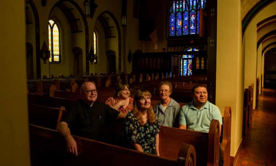 St Paul church in downtown Salem.