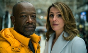 Gripping … Suranne Jones and Lennie James in Save Me, Sky Atlantic