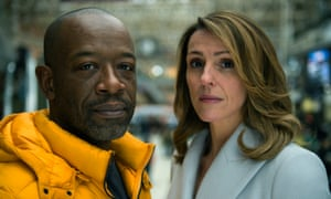 Lennie James and Suranne Jones in Save Me