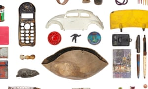 Objects found below the Dramrak and Rokin canals in Amsterdam, part of the Below the Surface exhibition.