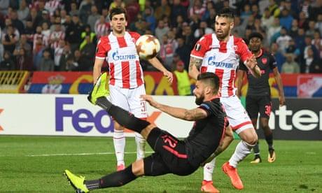 Olivier Giroud magic earns Europa League win for Arsenal over Red Star Belgrade