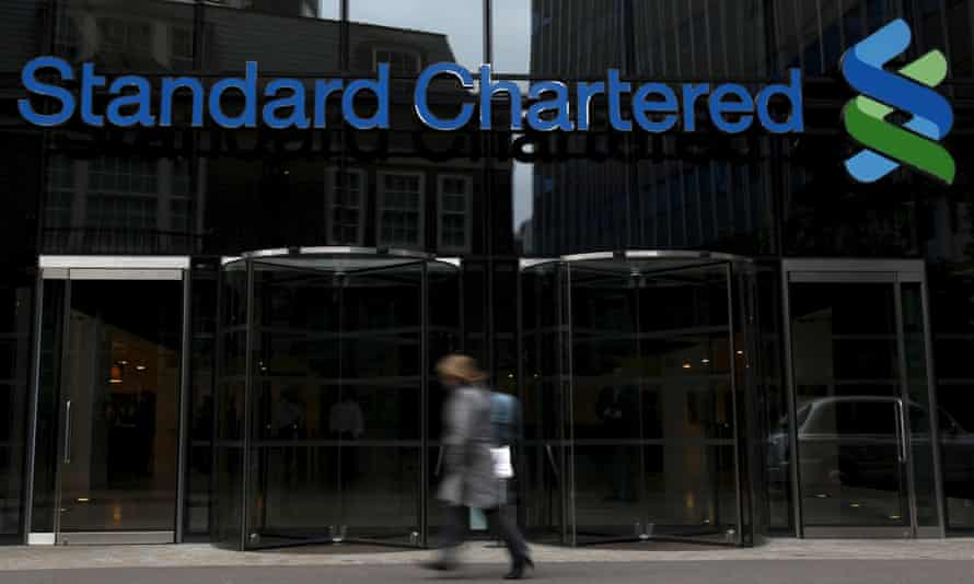 A Standard Chartered bank in London