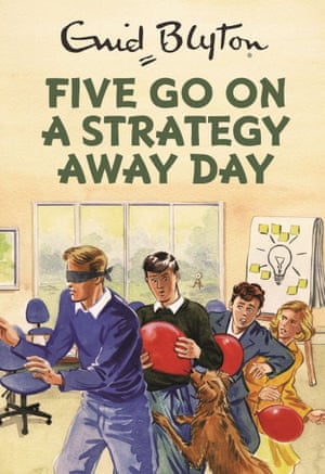 Front cover of Five go on a strategy away day