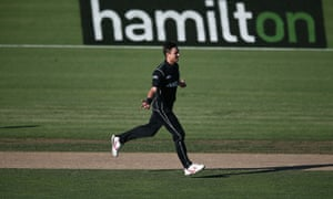 Trent Boult starred for New Zealand as they beat Australia by 24 runs.