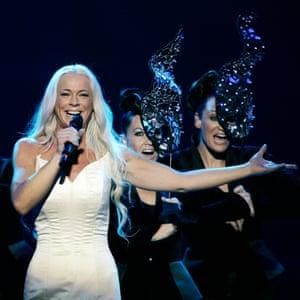 Opera-bop … Malena Ernman – AKA Greta Thunberg's mum – competed for Sweden in 2009.