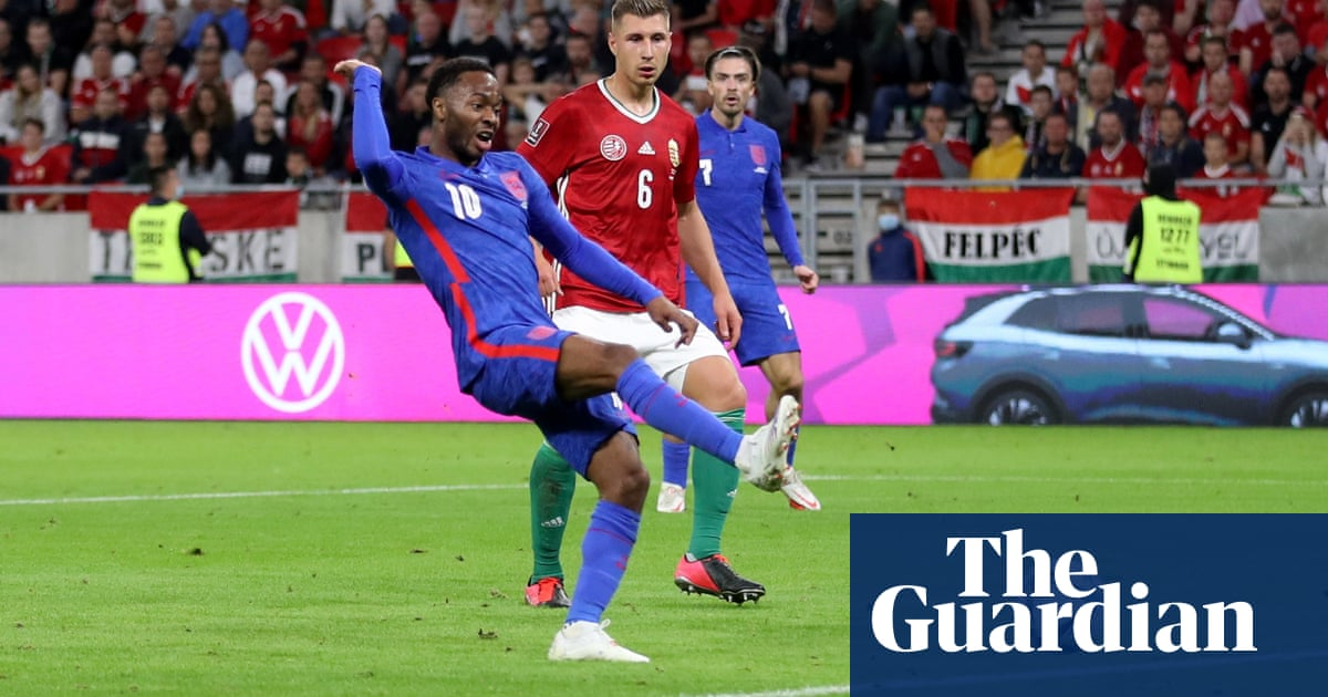 Raheem Sterling on target as England rise above abuse to rout Hungary