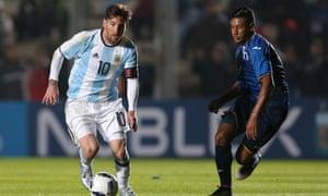 Argentina have not won the Copa América since 1993.