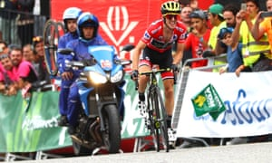 All eyes are on Simon Yates as he crosses the line of the final mountain stage to seal his victory in the Vuelta.
