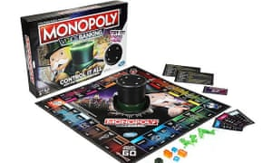 The new cashless, voice activated version of Monopoly.