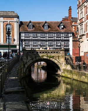 The river Witham and High Bridge, Lincoln