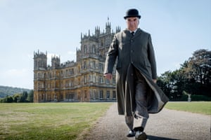 A manufactured Britain for dreaming Americans ... Jim Carter as Charles Carson in Downton Abbey.