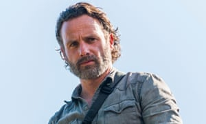 Andrew Lincoln as Rick Grimes in The Walking Dead. Time to kill him off.