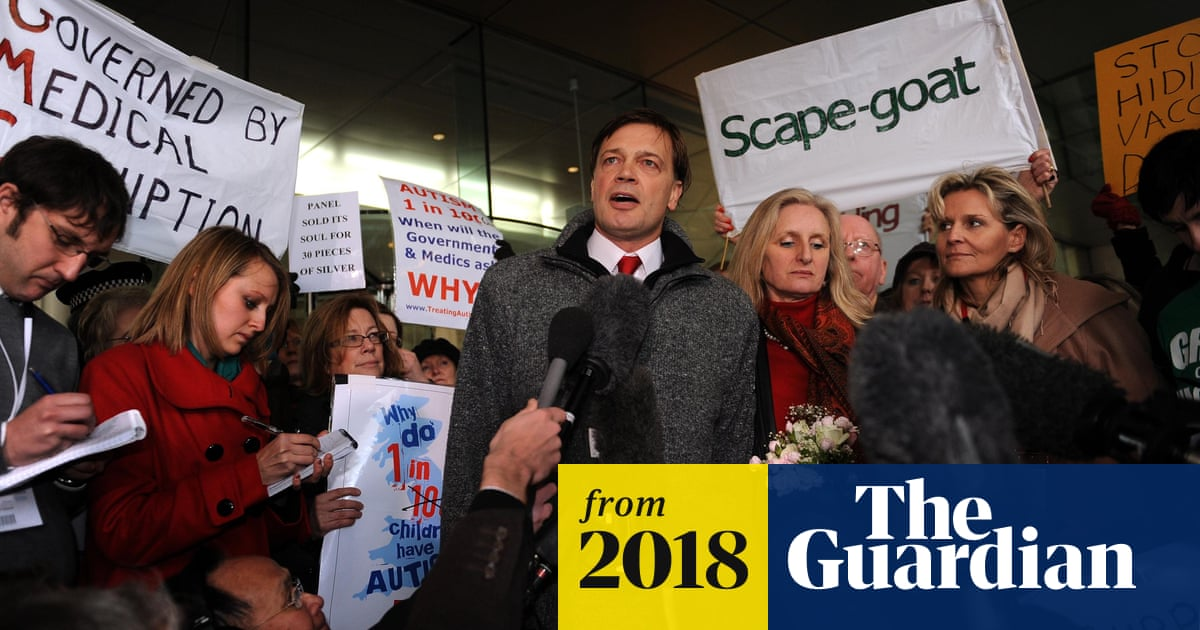Anti Vaccine Activists Have Taken >> Disgraced Anti Vaxxer Andrew Wakefield Aims To Advance His Agenda In