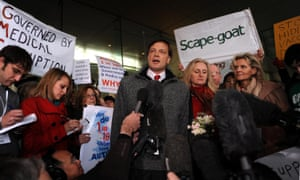 Andrew Wakefield prompted large drops in vaccination rates in the UK and Ireland when he published a now-retracted paper in 1998.