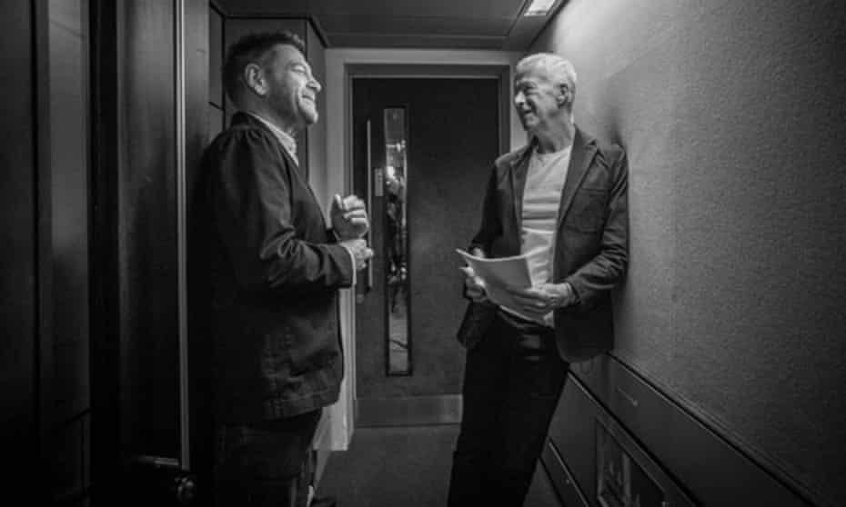 Kenneth Branagh and John Wilson.