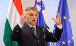 The Hungarian prime minister, Viktor Orban, espouses an authoritarian style of government.