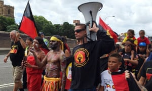 An Invasion Day march in Sydney