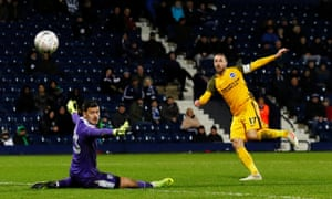Glenn Murray scores for Brighton v West Bromwich Albion