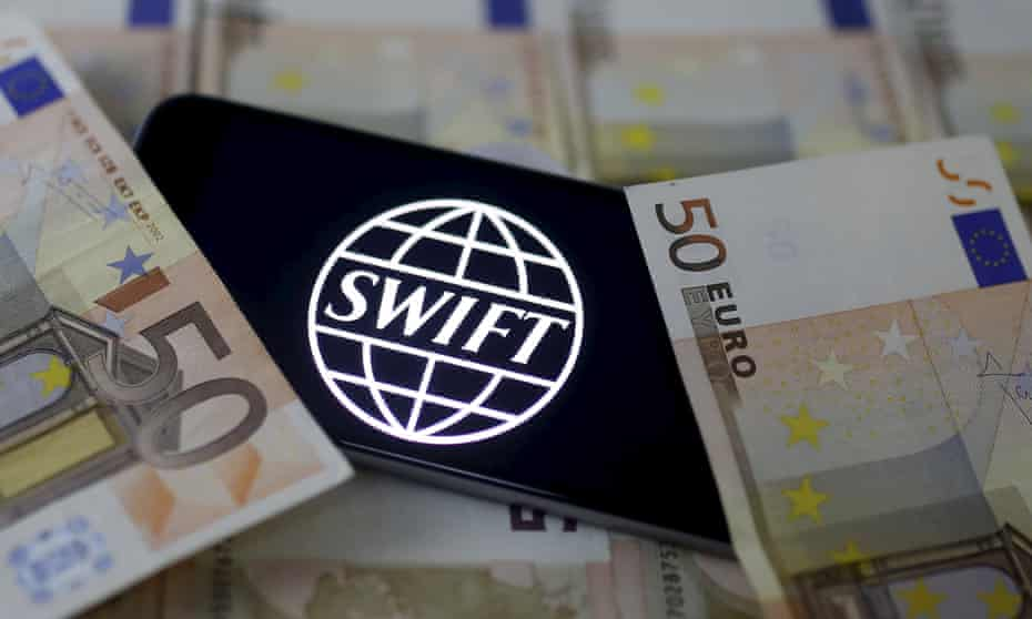 The Swift banking system is used to transfer billions internationally every day.