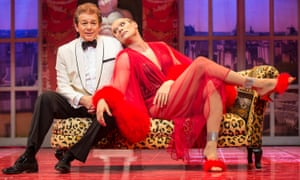 No folly … Adrian Zmed and John Partridge in La Cage aux Folles.