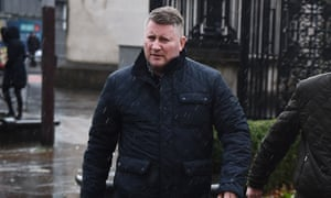 Paul Golding, the leader of Britain First.