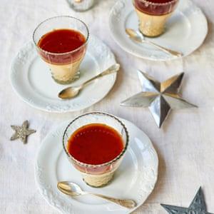 Cuajada de turrón New Year's Eve Nieves Barragán Mohacho OFM December 2018 Observer Food Monthly