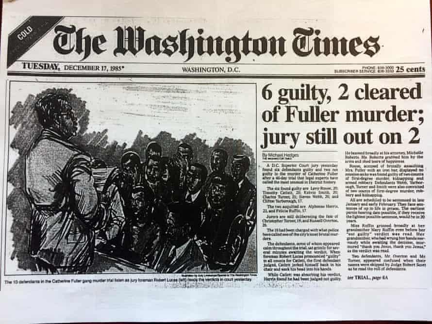 Catherine Fuller murder The Washington Post in 1985