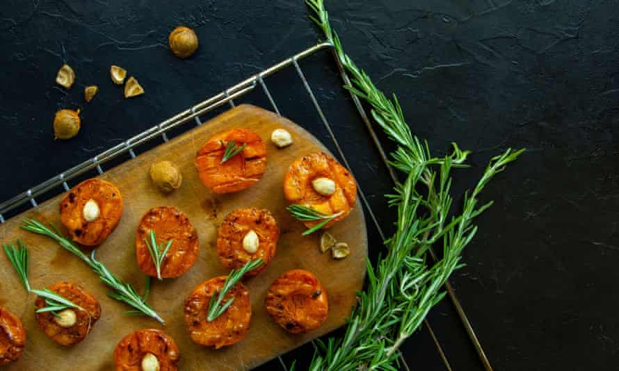 The recipe for grilled peaches from Seven Fires: Grilling the Argentine Way, was 'a real eye-opener' for Tomos Parry.