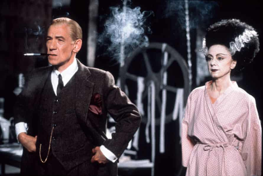 'He'd shoot for 12 hours then ring me at 1am with notes' … with Rosalynd Ayres in Gods and Monsters, for which he was Oscar-nominated.