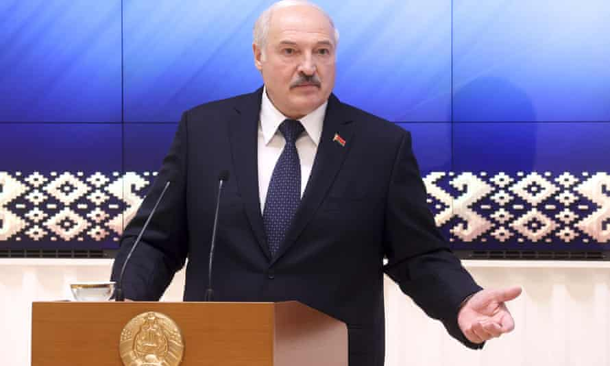 Alexander Lukashenko 'can no longer be allowed to act with such impunity'.