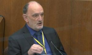 Dr David Fowler testifies as a defense witness in Derek Chauvin's trial.