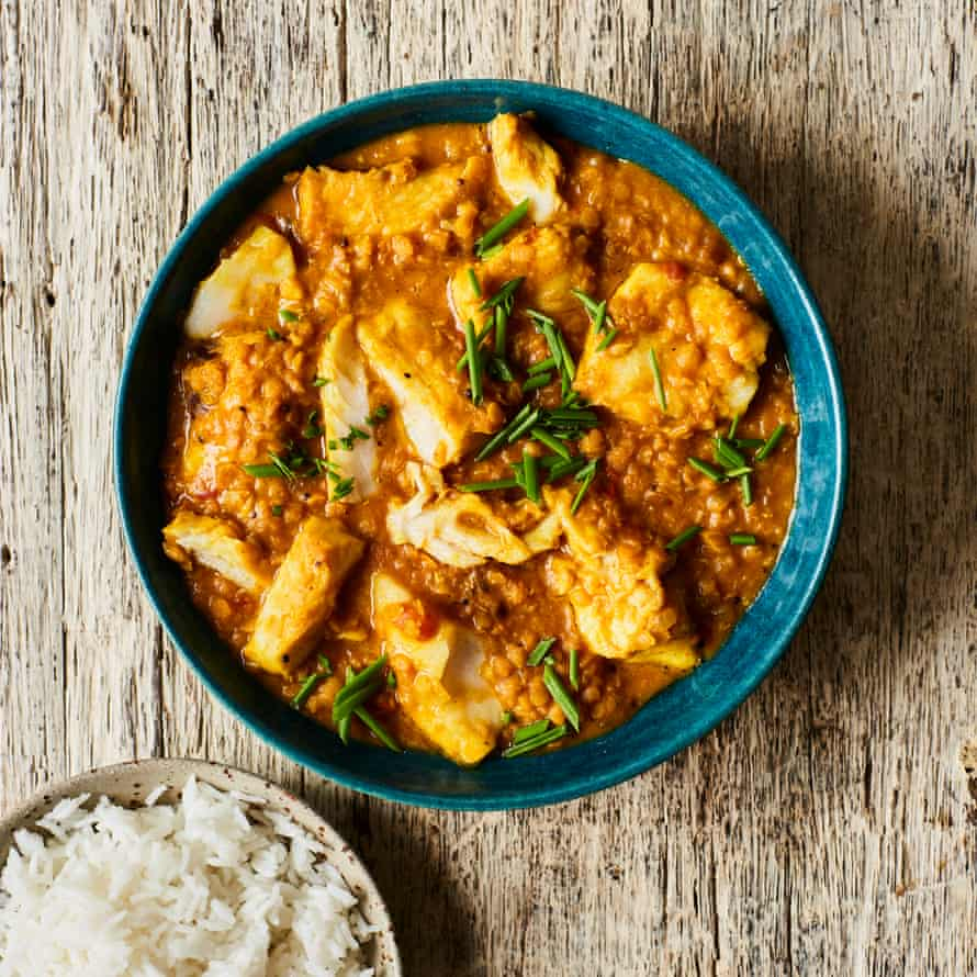 Chetna Makan's fish and lentil curry